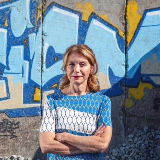 Heidi Brunnschweiler: Ich komme zum Barcamp Lernräume, weil ich die Diskussion Gestaltung von digitalem Wandel in Freiburg spannend finde.