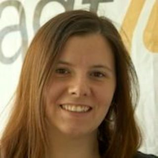 """Stefanie Merz: Ich komme zum Barcamp Lernräume, weil in der Jugendarbeit so viel Bildung geschieht und dieser """"Lernraum"""" meist gar nicht im Bewusstsein ist."""